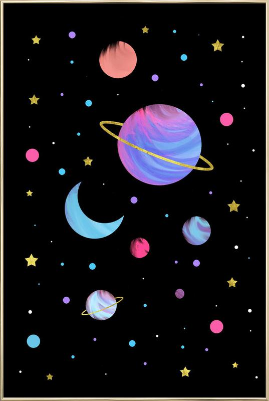 Great Universe -Poster im Alurahmen
