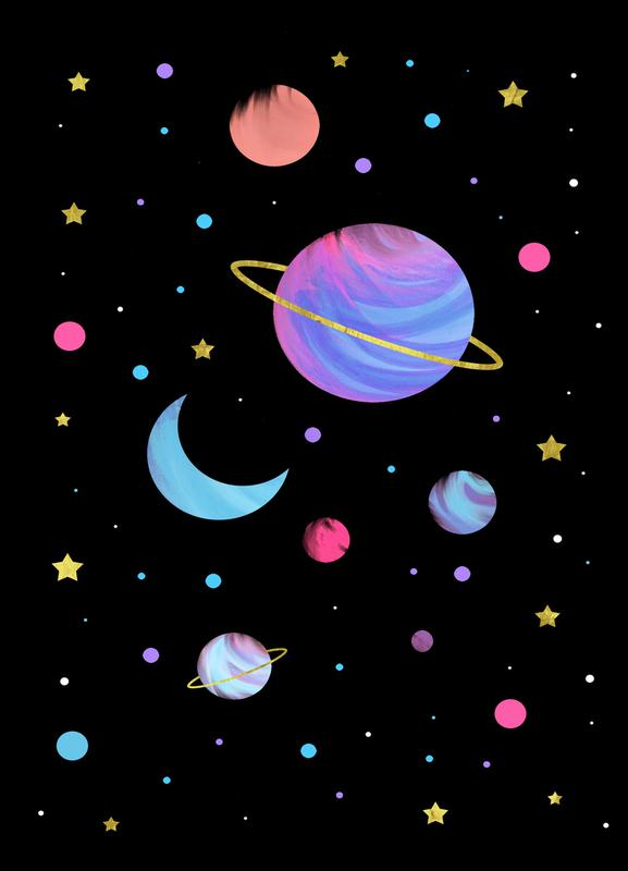 Great Universe canvas doek