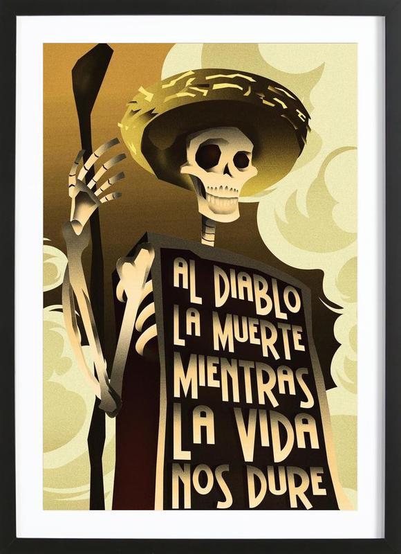 Day Of The Dead ingelijste print