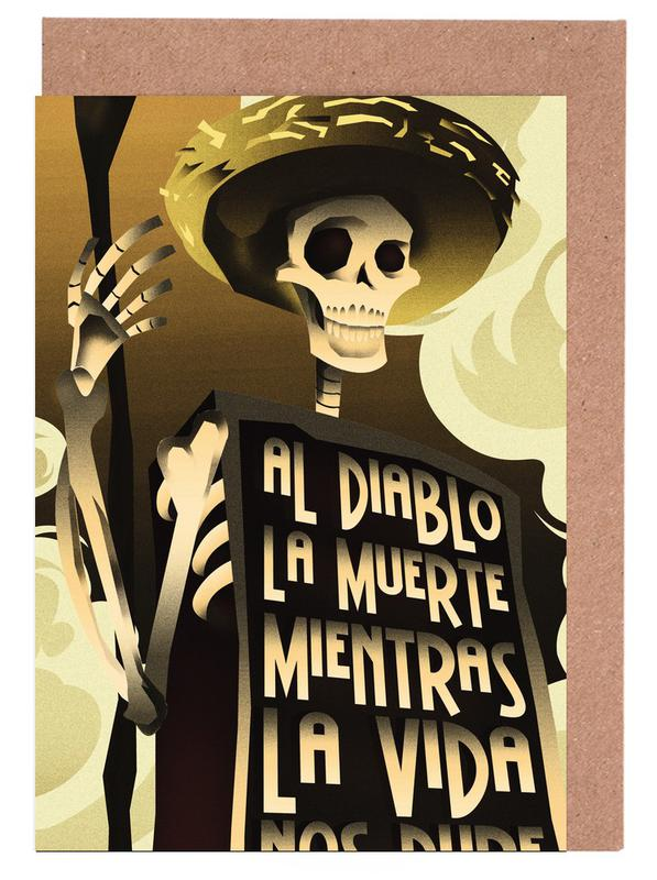 Day Of The Dead Greeting Card Set