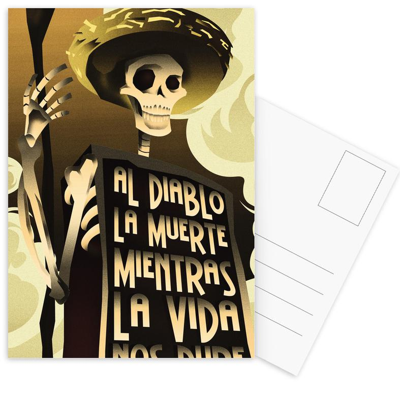 Day Of The Dead Postcard Set