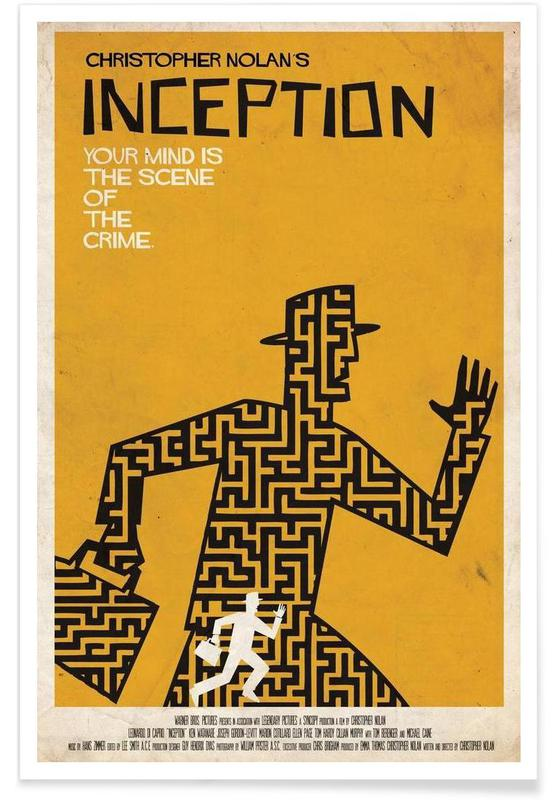 Films, Film Inception minimalistisch poster