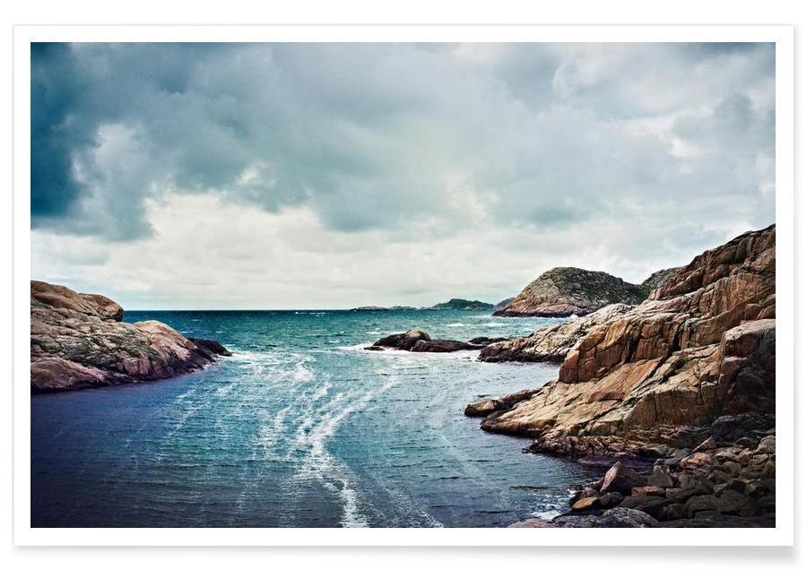Océans, mers & lacs, Northern Summer affiche