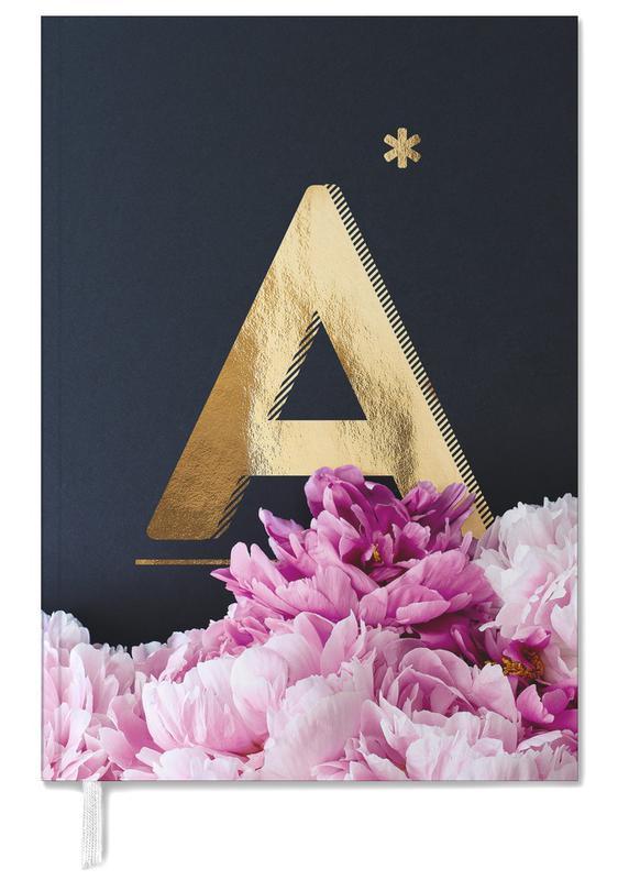 Flower Alphabet A agenda