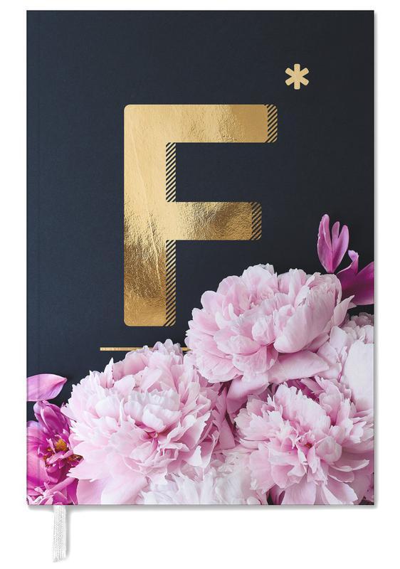 Flower Alphabet F agenda