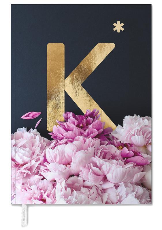 Flower Alphabet K Personal Planner