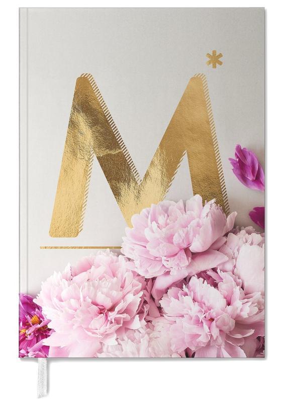 Alphabet & Buchstaben, Flower Alphabet M -Terminplaner