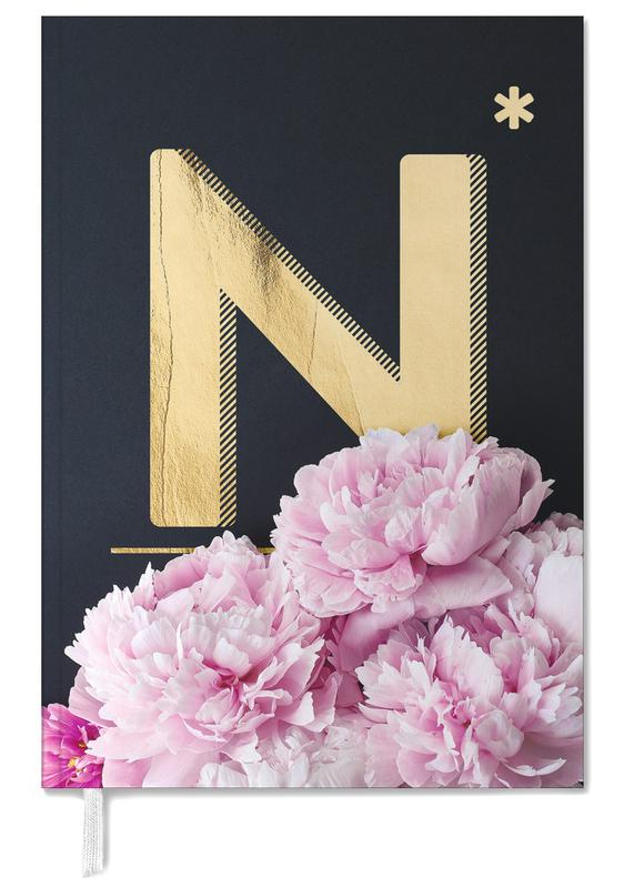 Flower Alphabet N Personal Planner