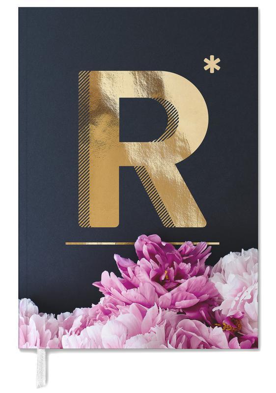 Flower Alphabet R -Terminplaner
