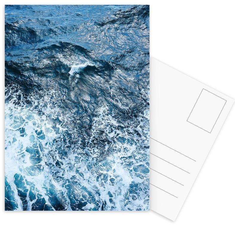 Ozeane, Meere & Seen, Blautöne des Meeres II -Postkartenset