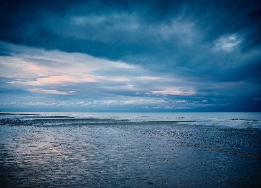 Dieser Abend am Meer -Leinwandbild
