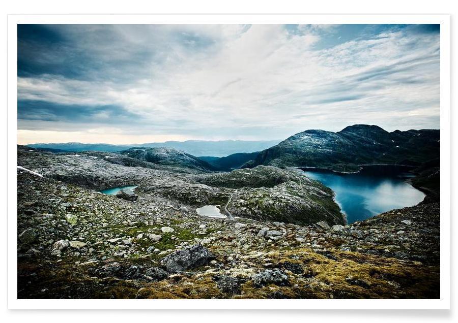 Montagnes, Fantastic Norway I affiche