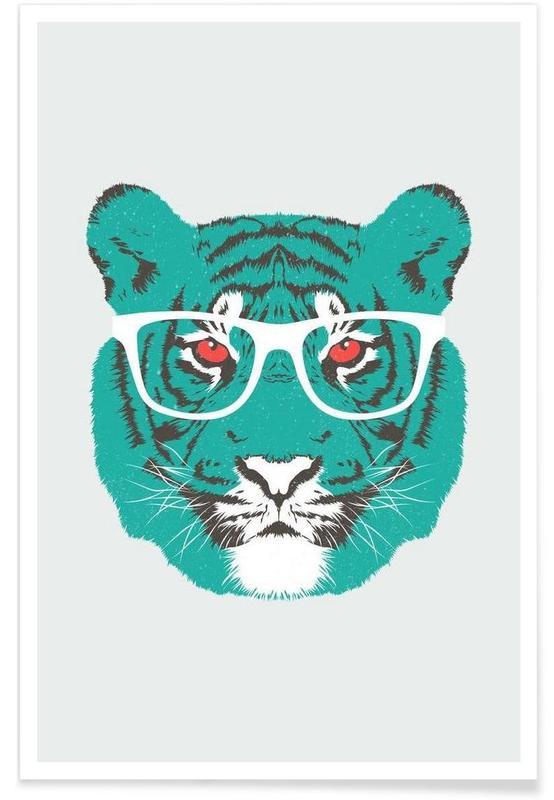 Tigres, Bookish Big Cat affiche