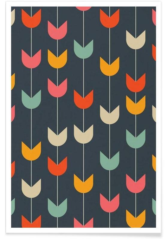 Tulpen, Tulips -Poster