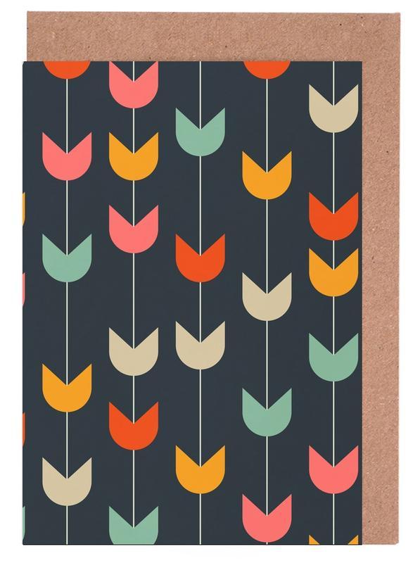 Tulips, Tulips Greeting Card Set