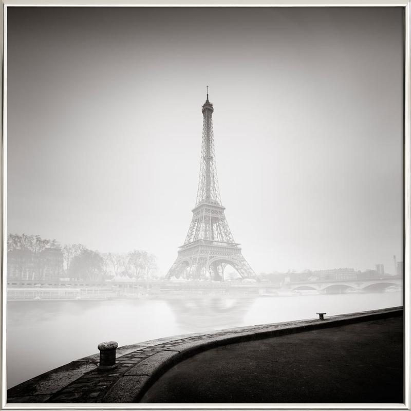 Tour Eiffel poster in aluminium lijst