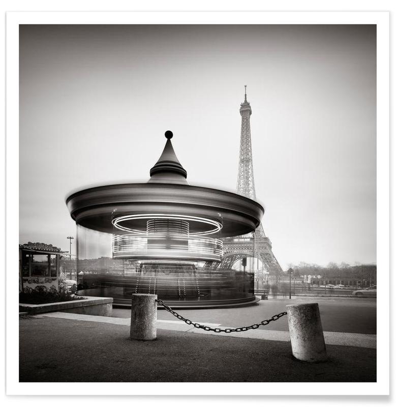 Tour Eiffel - Study 2 affiche