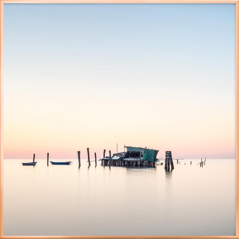 Venedig - Un Posto Tranquillo poster in aluminium lijst