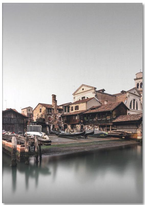 Détails architecturaux, Squero Di San Trovaso - Venedig 2019 bloc-notes