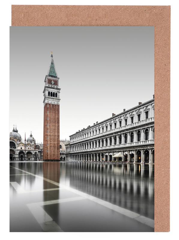 Architekturdetails, Piazza San Marco - Venedig 2019 -Grußkarten-Set