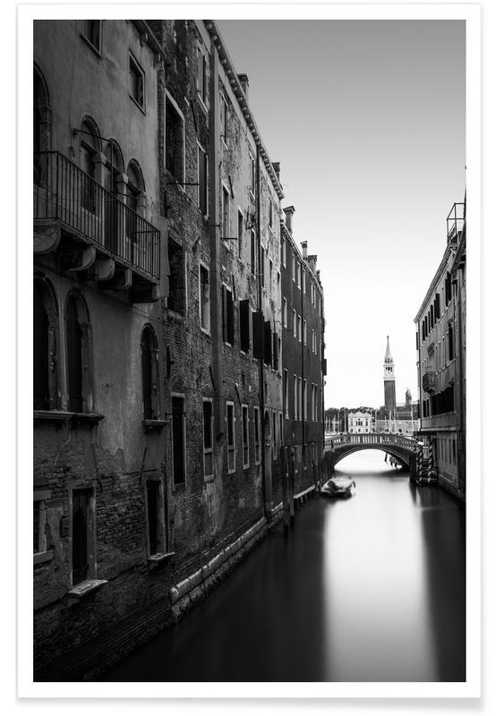 Schwarz & Weiß, Corridoio - Venedig -Poster