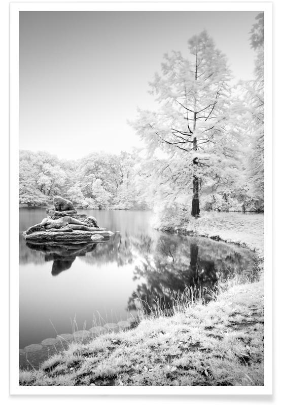 Black & White, Hidden II  Meeresgrund - Berlin Poster