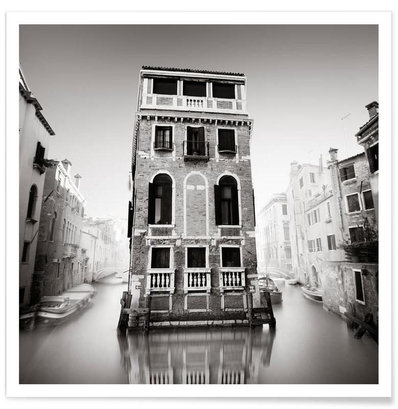 Venedig, Sort & hvidt, Seværdigheder & landmærker, Palazzo Tetta Plakat