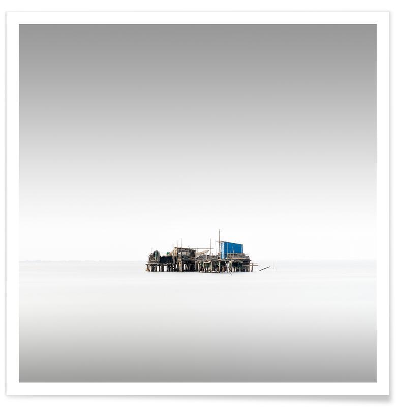Noir & blanc, Vecchio Study 15 - Venedig affiche
