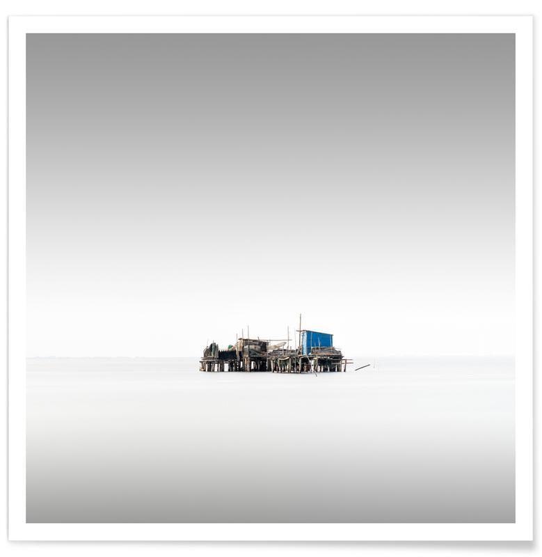 Black & White, Vecchio Study 15 - Venedig Poster