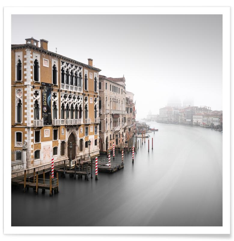 Black & White, Palazzo Cavalli Franchetti - Venedig Poster