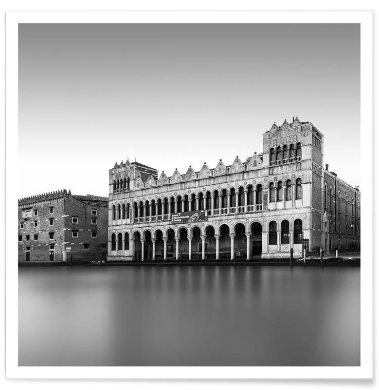 Noir & blanc, Museo Di Storia Naturale - Venedig affiche