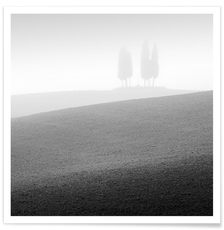 Paysages abstraits, Voyages, Noir & blanc, Détails architecturaux, Conference | Val D`orcia 2015 affiche