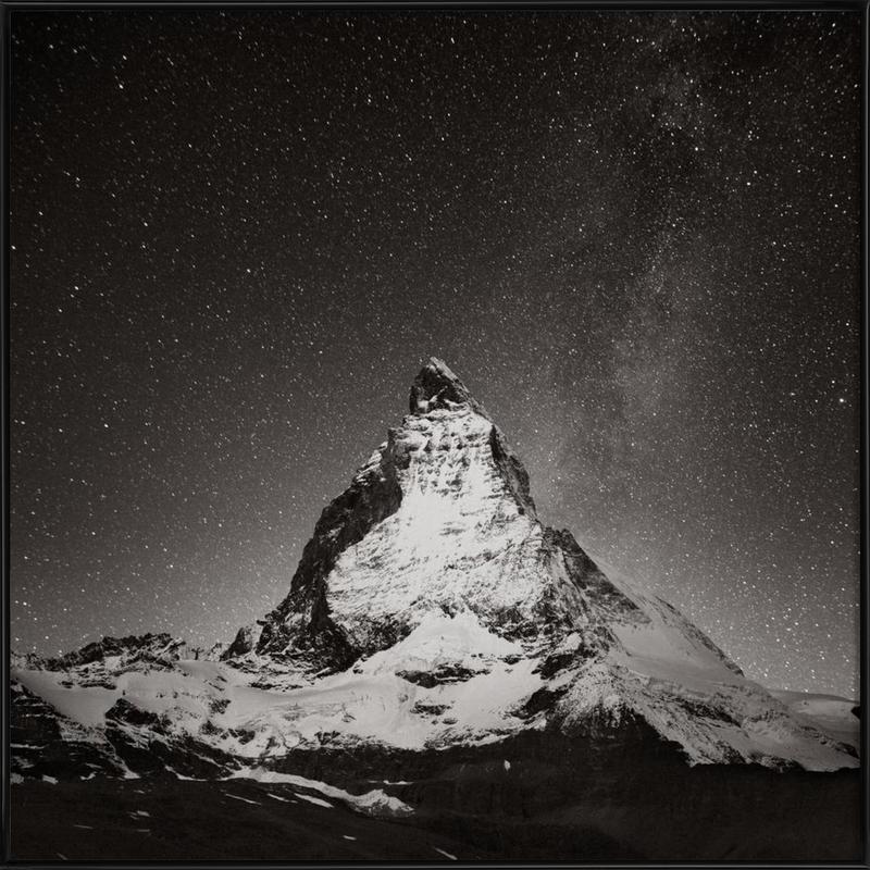 Schwiiz - Matterhorn Study 2 Framed Poster