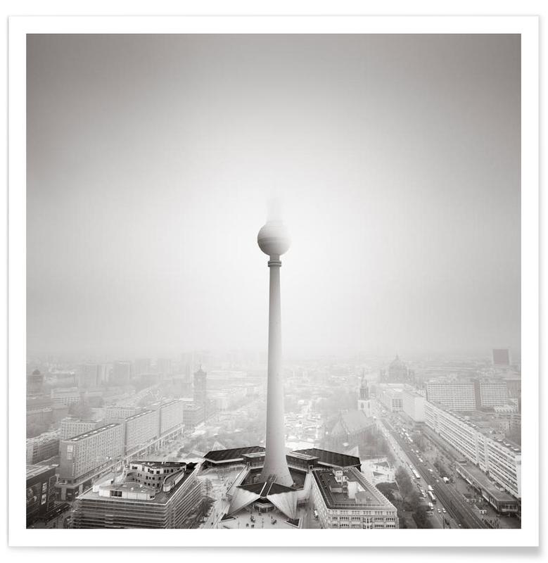 Schwarz & Weiß, Sehenswürdigkeiten & Wahrzeichen, Berlin, Ode to Berlin -Poster