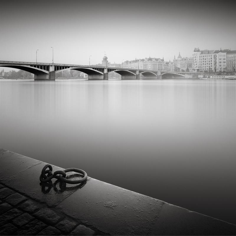 Prague Vlatva River Canvas Print