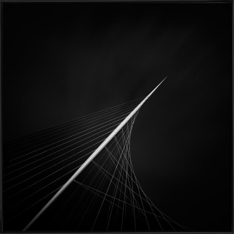 Santiago Calatrava Calatravabruggen Framed Poster