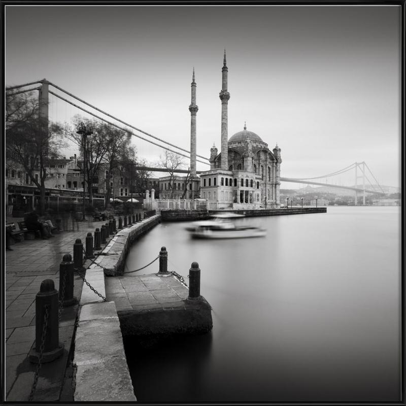 Büyük Mecidiye Camii, Istanbul ingelijste poster