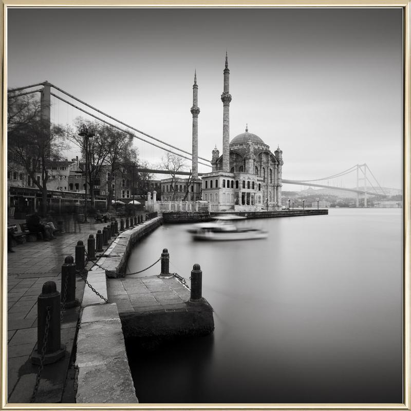 Büyük Mecidiye Camii, Istanbul poster in aluminium lijst