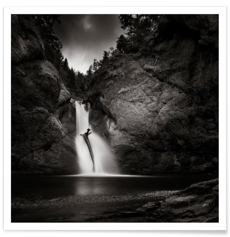 Buchenegg Waterfall Poster
