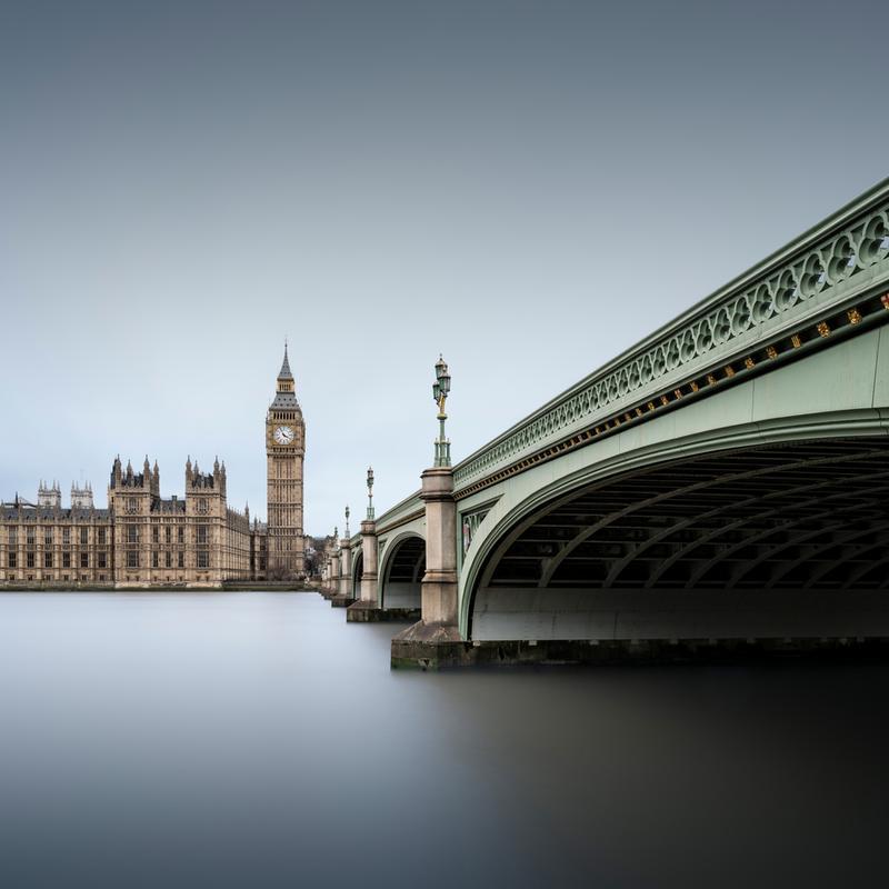 London - Westminster Abbey -Acrylglasbild