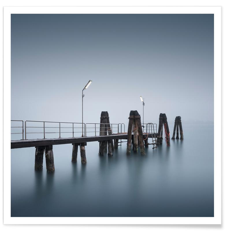 Venedig, Hav, sø & havlandskab, Broer, Venedig - A Due Plakat