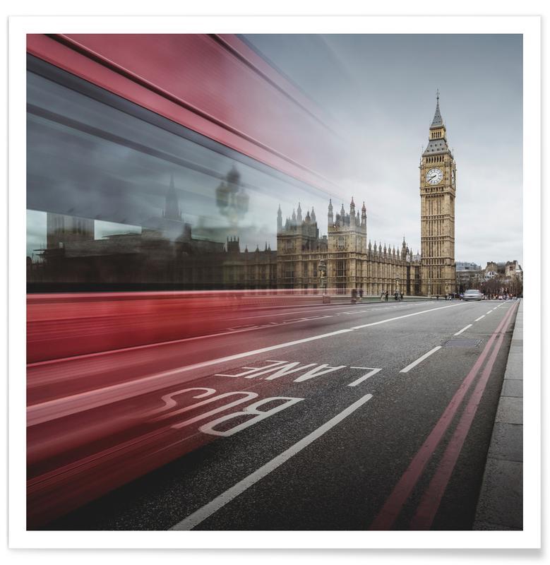 London, Sights & Landmarks, London - Big Ben Poster