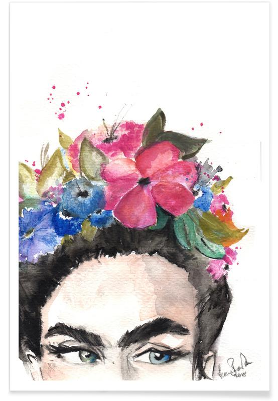 Frida's Look Poster