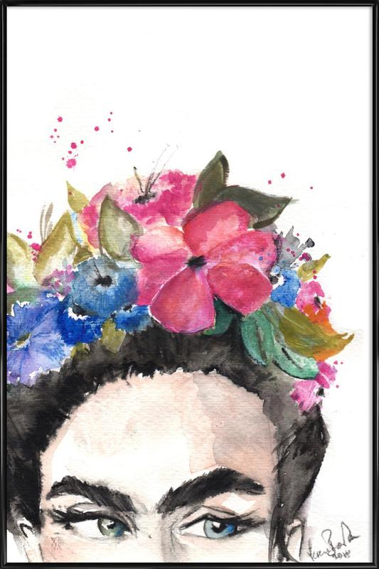 Frida's Look Framed Poster