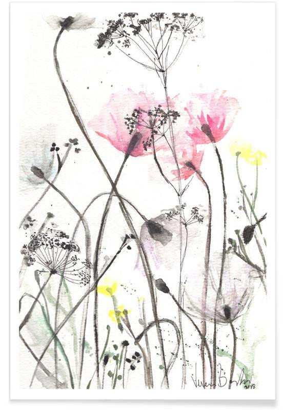 , Blumen poster