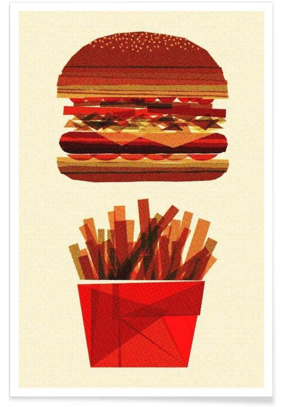 Burgers, Burger & Fries affiche