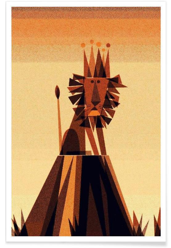 Leeuwen, Lion King poster