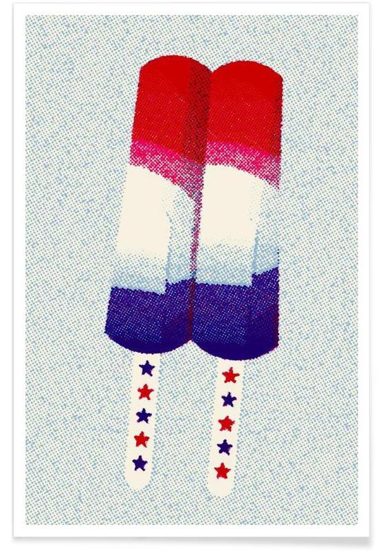 Eiscreme, Patriot Pop -Poster