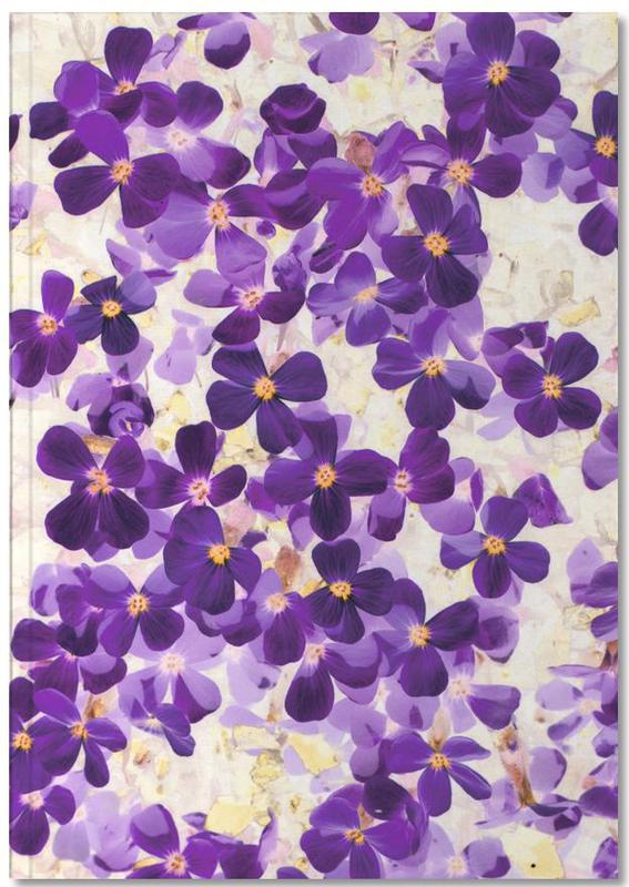 Violet Bloom Notebook