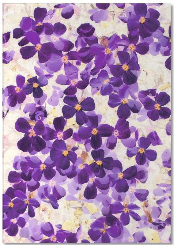 Violet Bloom Notepad